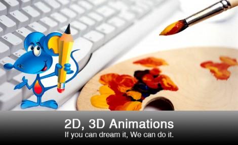 3D Animation & 2D Animation